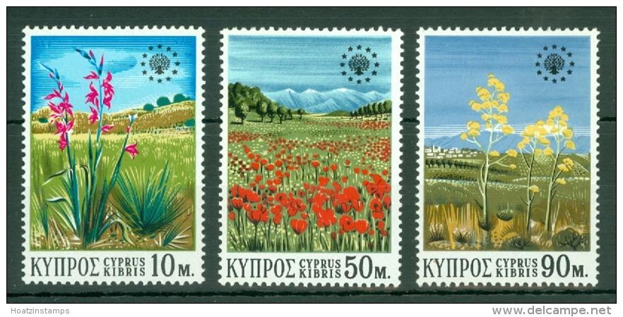 Cyprus: 1970   European Conservation Year  MNH - Chypre (République)