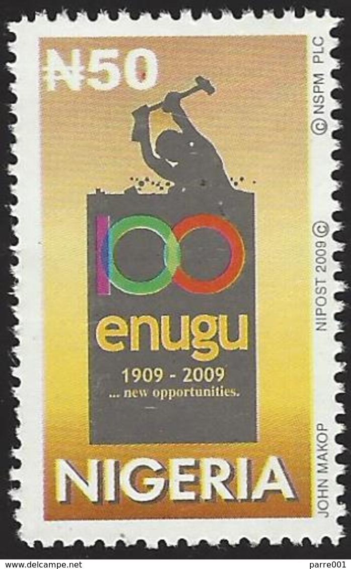 Nigeria 2009 Coal Mining Opened In 1909 In Enugu MNH Mint - Mineralen