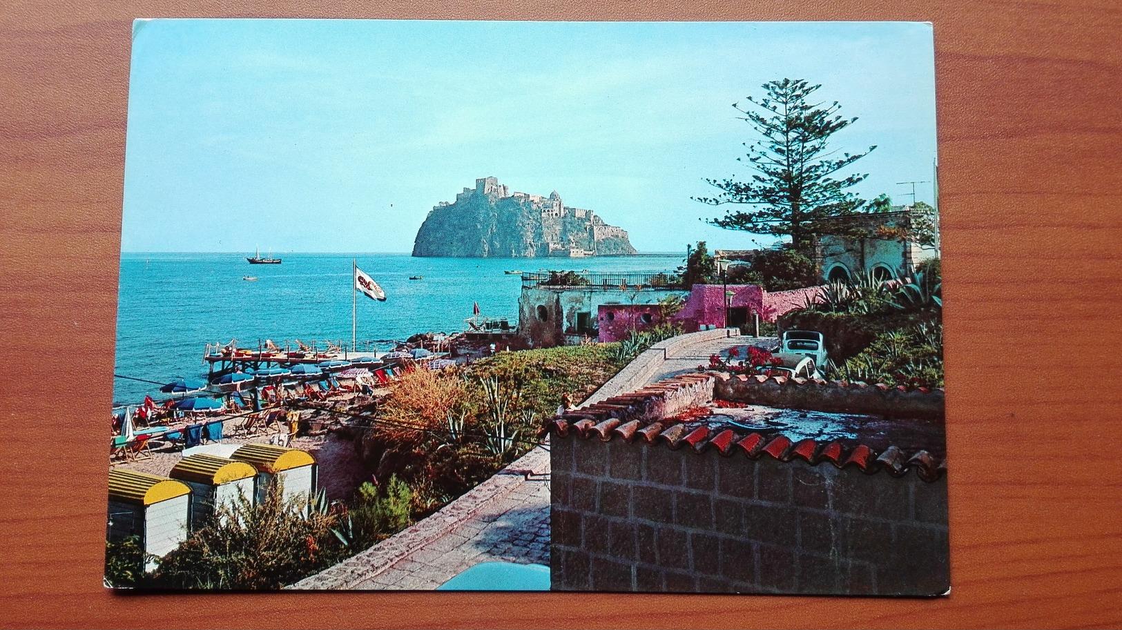 Isola D'Ischia - Ponte , Spiaggia Dei Pescatori E Castello - Napoli (Naples)