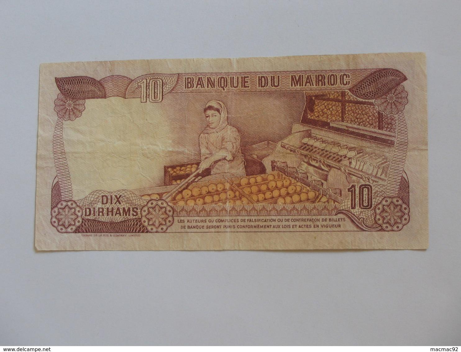 10 Dirhams 1970-1390 Maroc - Banque Du Maroc  **** EN ACHAT IMMEDIAT **** - Maroc