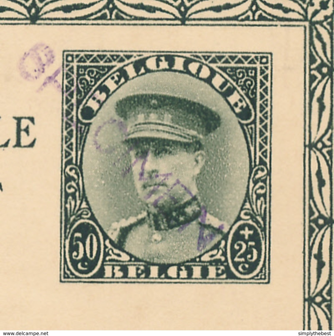 ZZ785 - Entier Illustré Képi ARLON Eglise St Donat - SPECIMEN En Violet   - Catalogue SBEP No 22 - NEUF - Stamped Stationery