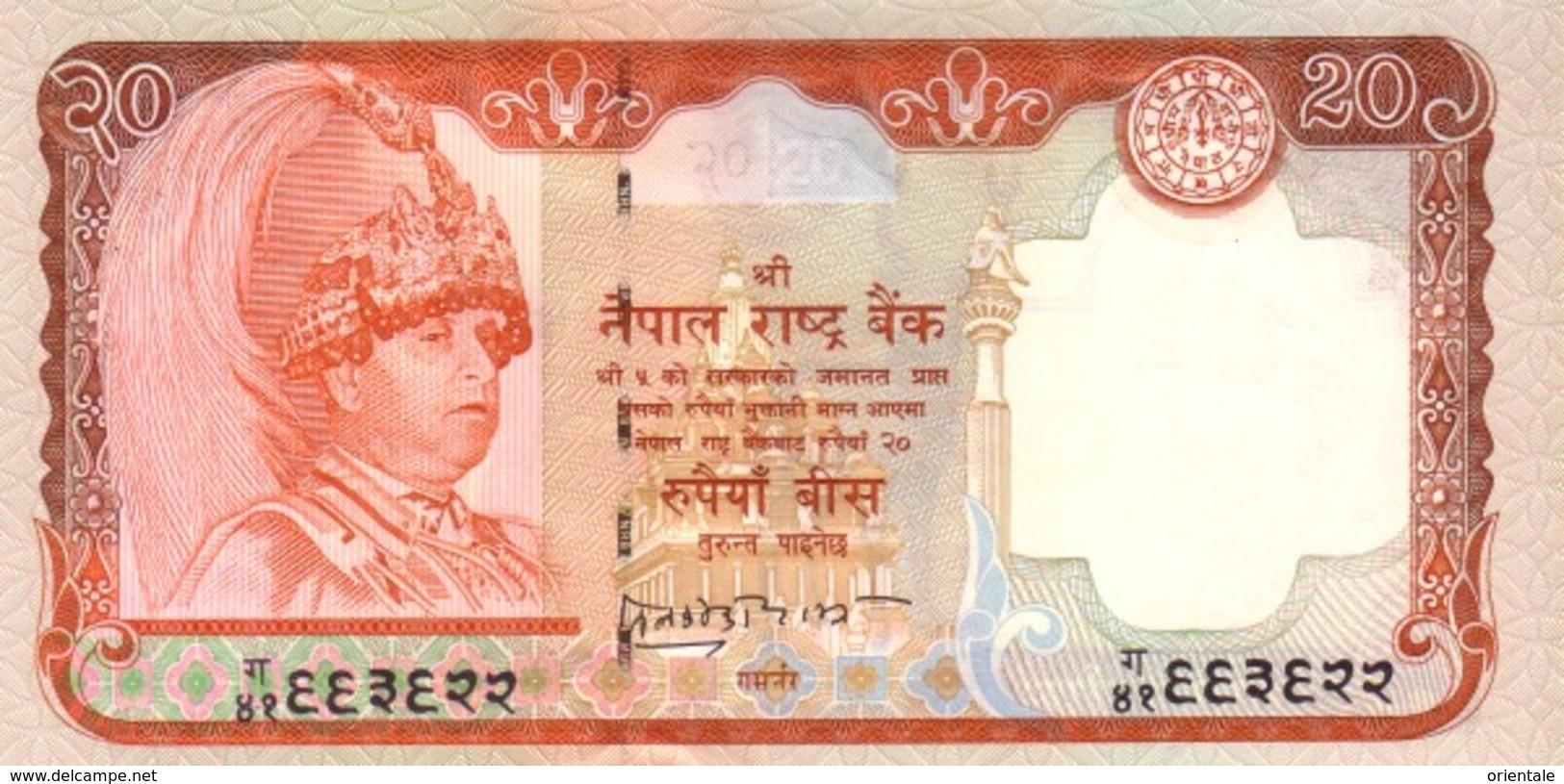 NEPAL P. 47b 20 R 2002 UNC - Nepal