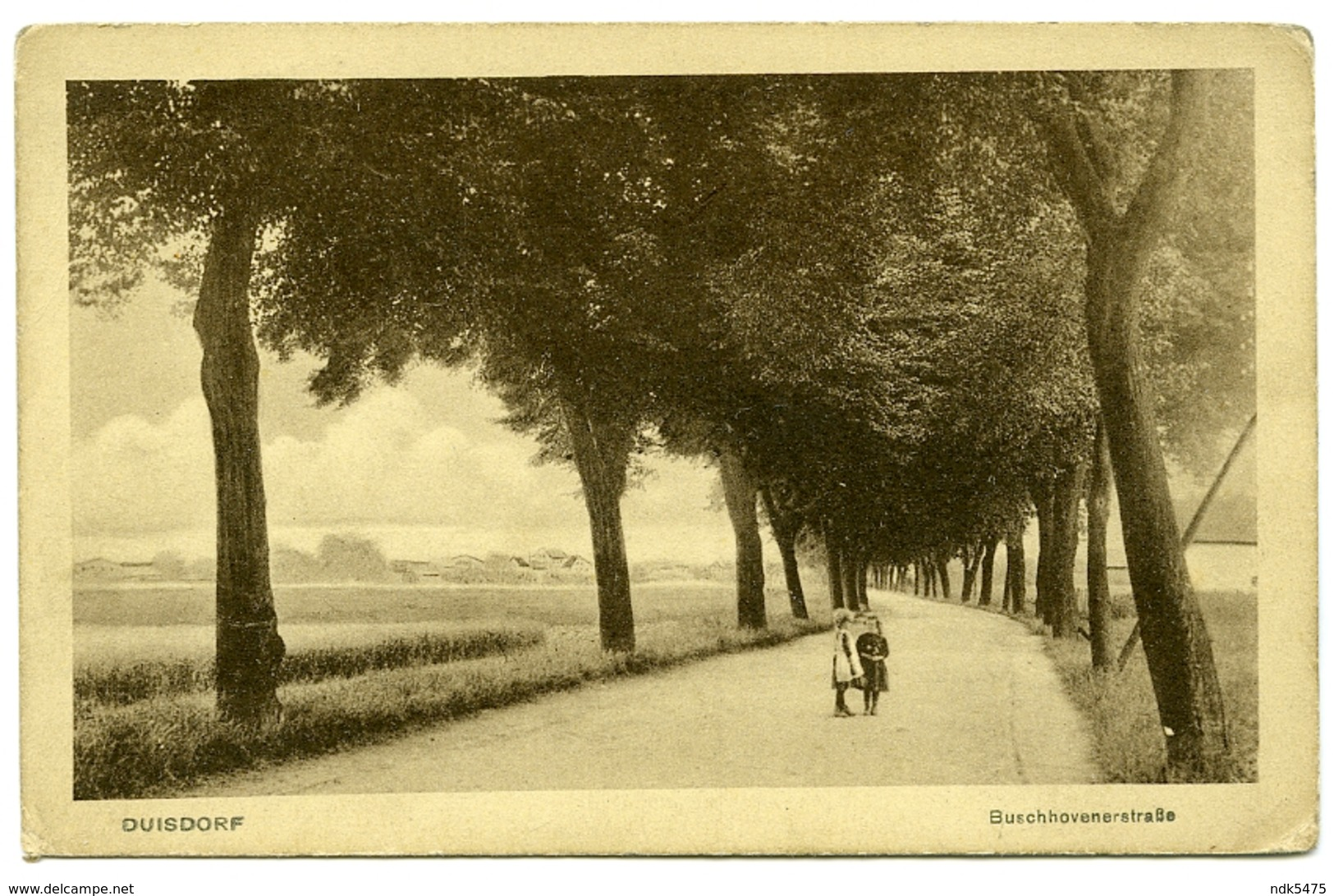 ALLEMAGNE : DUISDORF - BUSCHHOVENERSTRASSE - Bonn