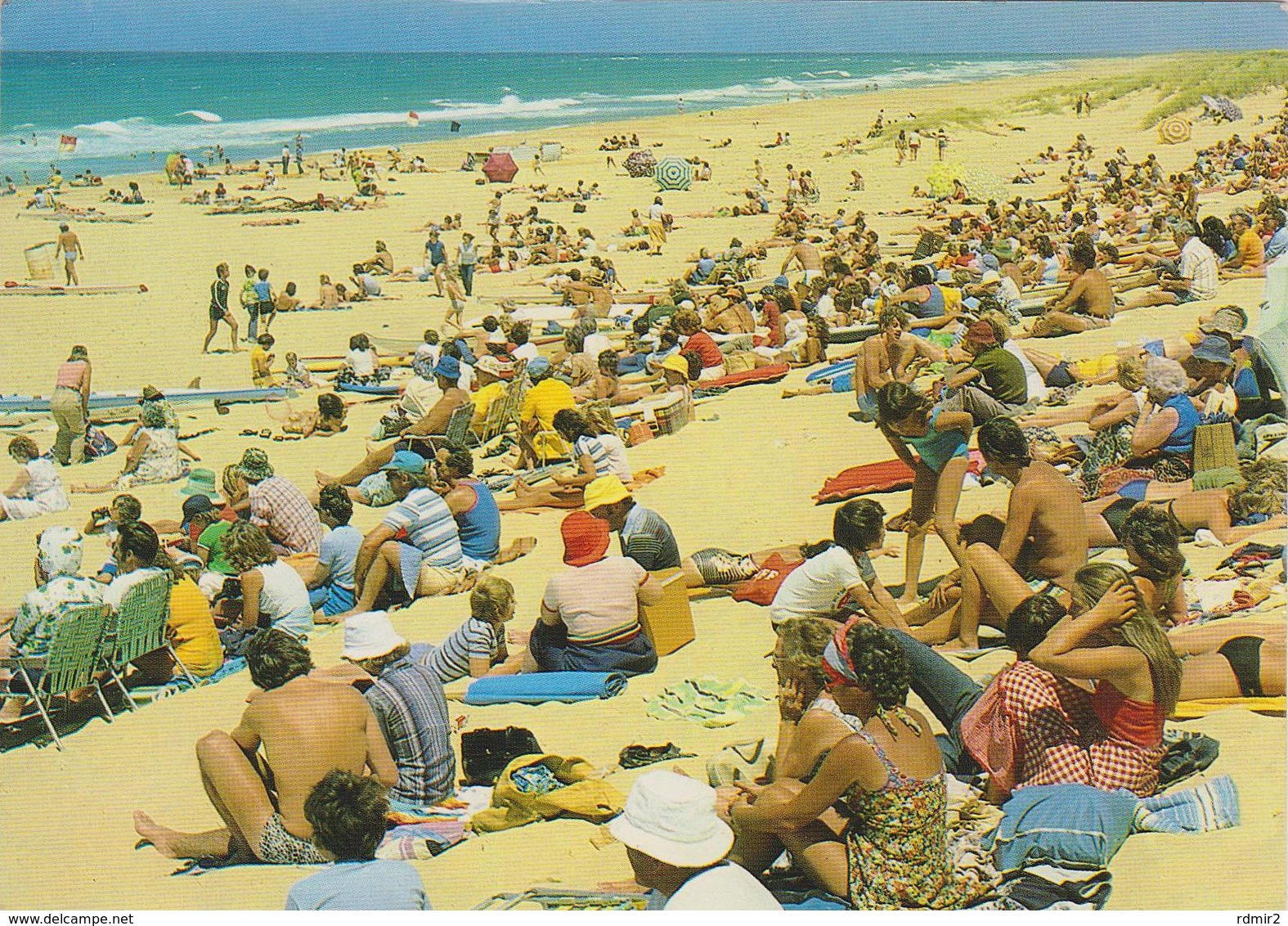 [29] EAST GIPPSLAND, Ninely Mile Beach. Traveled To Brighton, England, In 1985 (with Stamp). - Australia