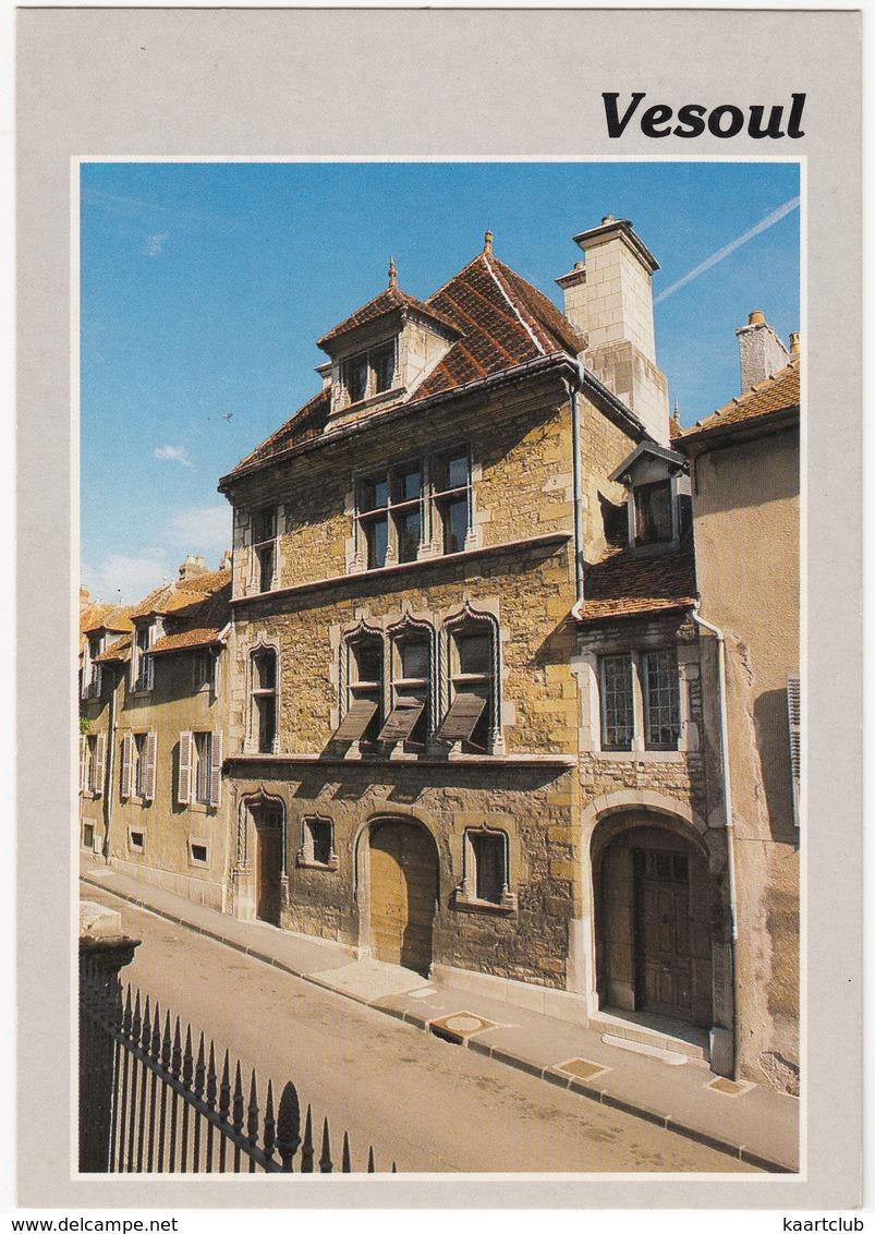 Vesoul (Hte-Saone) - L'Hotel 'Thomassin'  - (Gothique) -  (France) - Vesoul