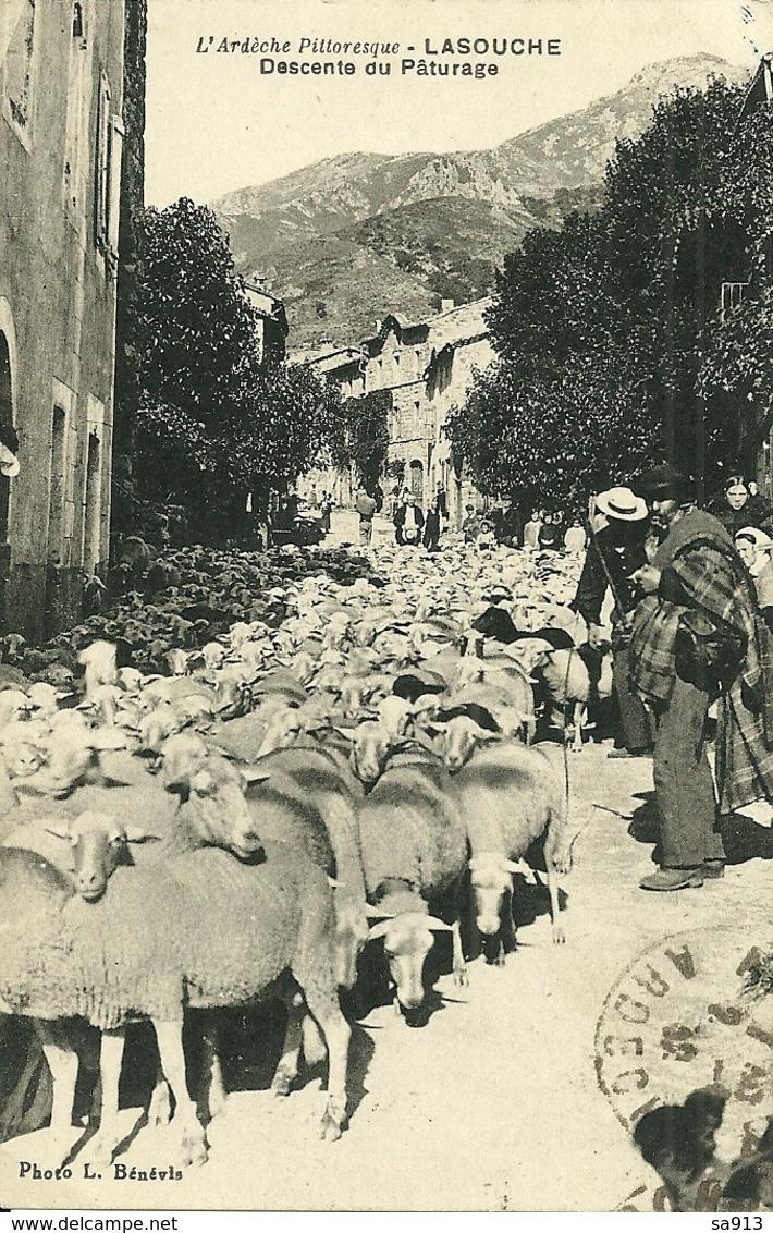 L' Ardèche Pittoresque - LA SOUCHE  - Descente Du Paturage - France