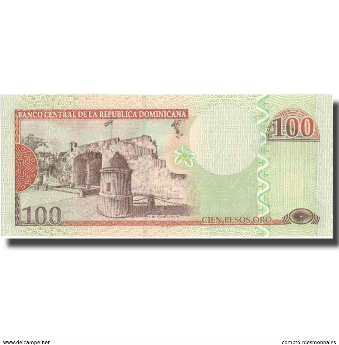 Billet, Dominican Republic, 100 Pesos Oro, 2003, 2003, KM:171c, NEUF - Dominicaine
