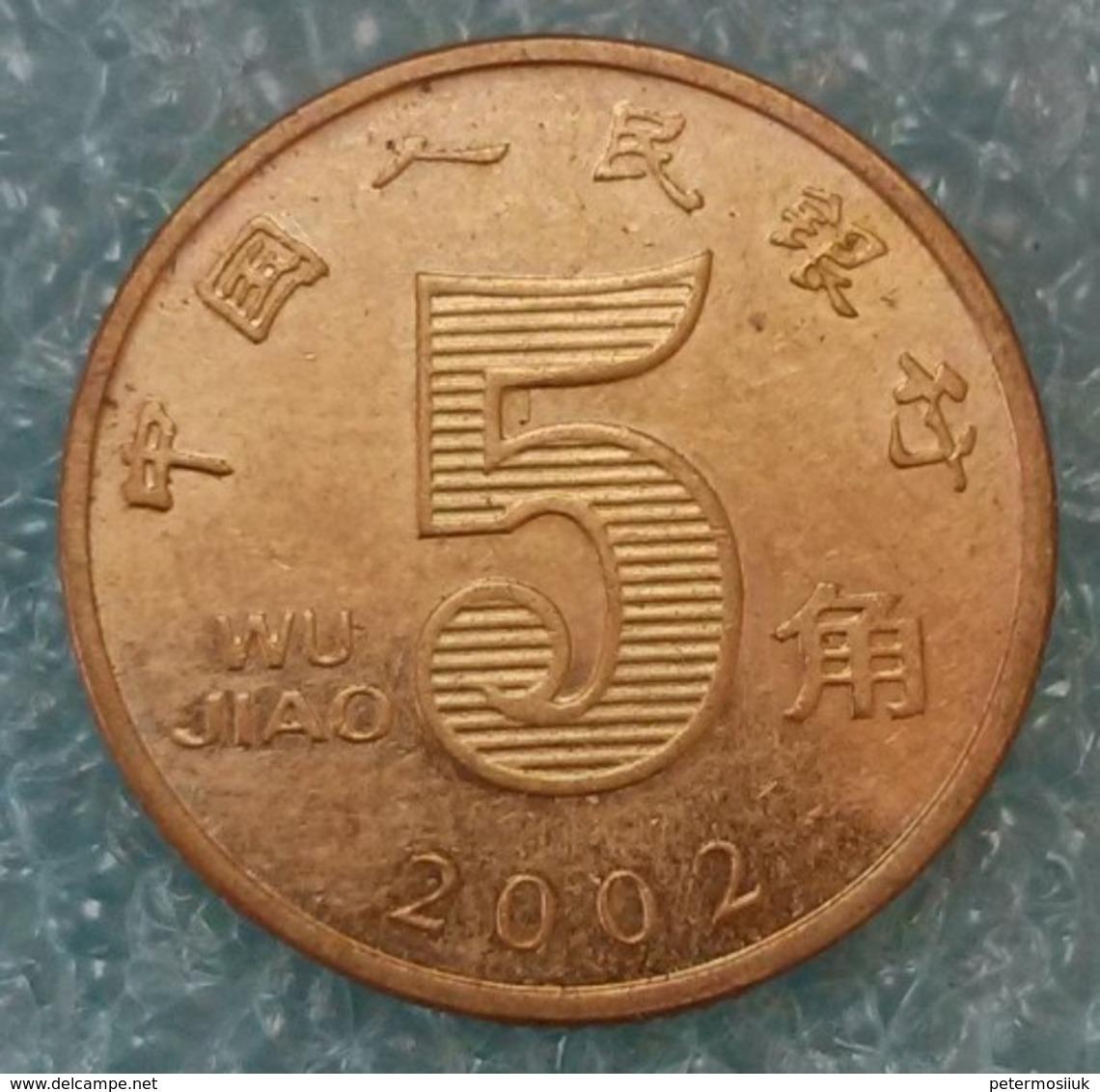 China 5 Jiao, 2002 ↓price↓ - Chine