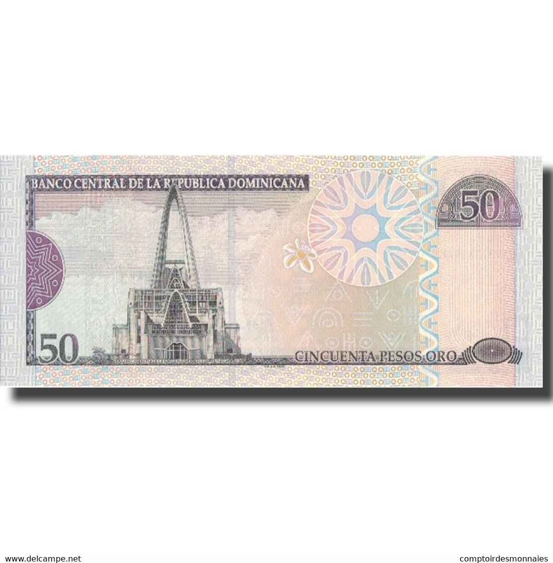 Billet, Dominican Republic, 50 Pesos Oro, 2006, 2006, KM:176a, NEUF - Dominicaine