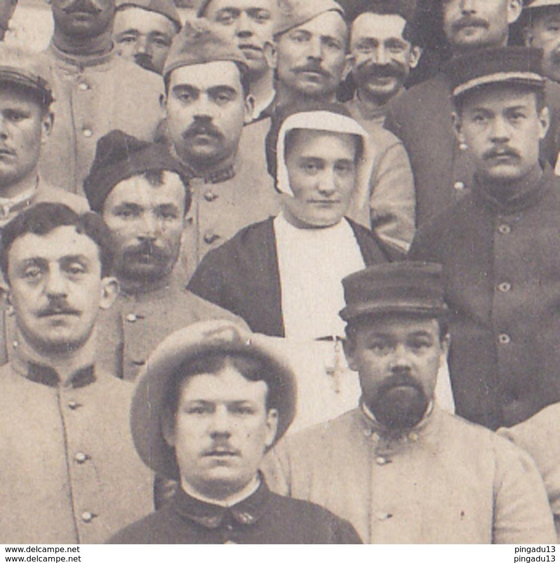 Au Plus Rapide Carte Photo Poix Lyon Religieuse Excellent état Hôpital Militaire - War 1914-18