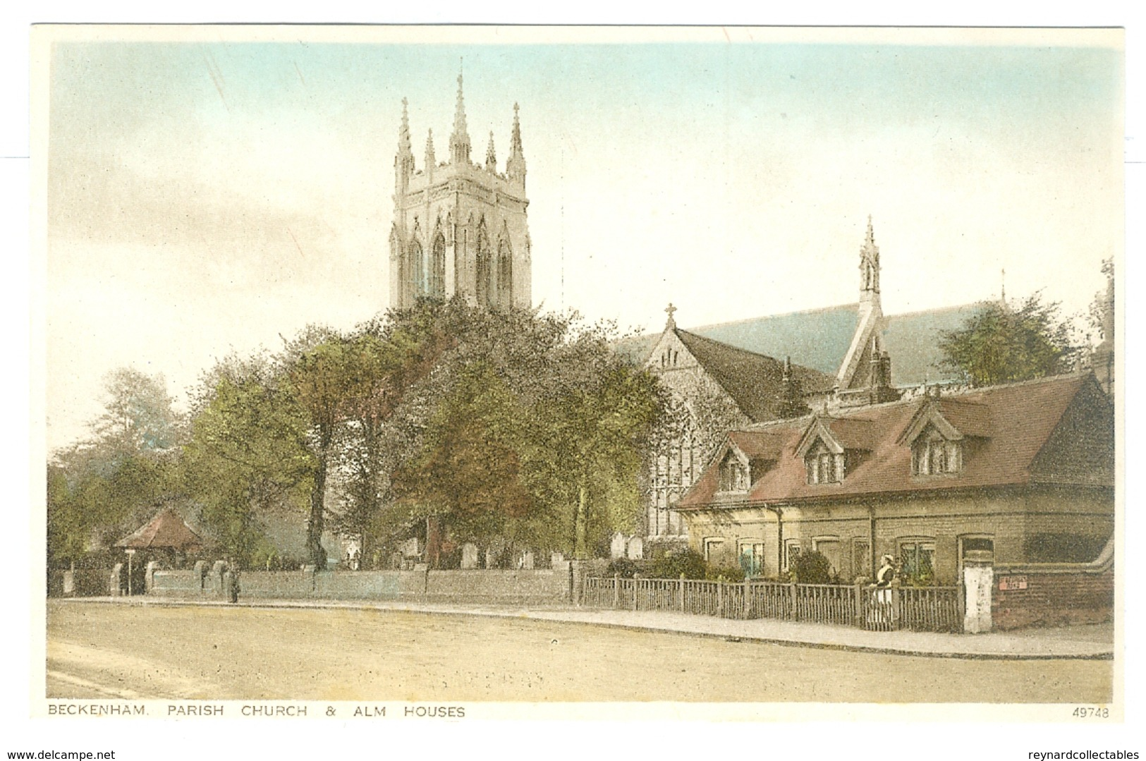12x 1920's? London, Beckenham Printed Pcs, All Unused. - London Suburbs