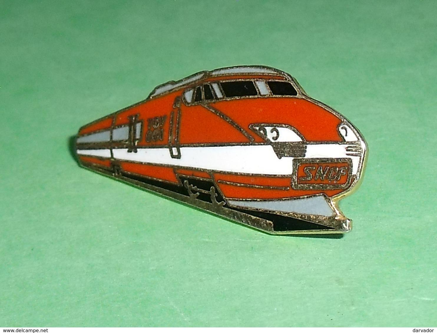 Pin's / Train / TGV  : TGV 001 ,; Sncf  TB1W - TGV