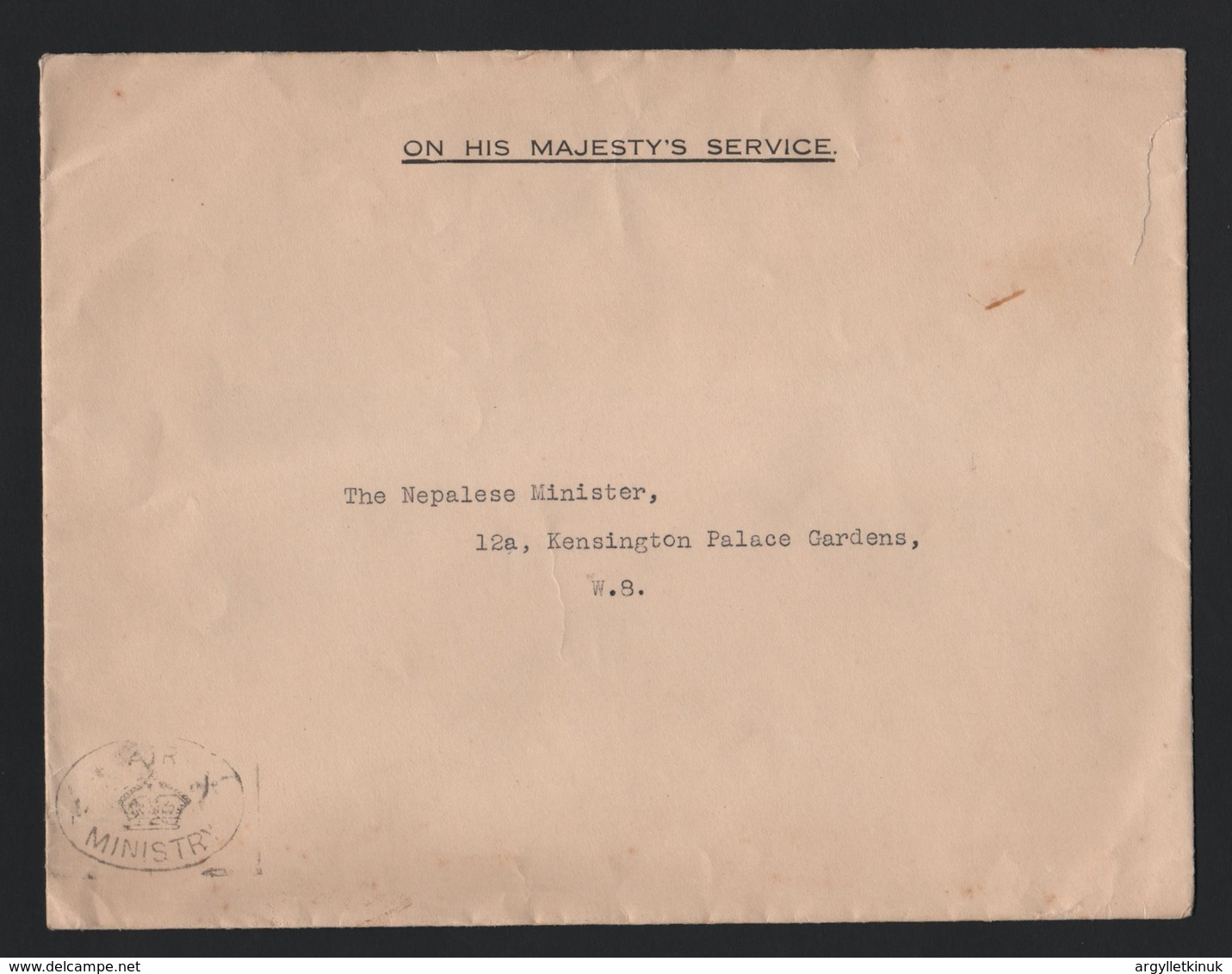 1934 GREAT BRITAIN ROYAL AIRFORCE DISPLAY HENDON AERODROME NEPAL AIR MINISTRY - Historical Documents