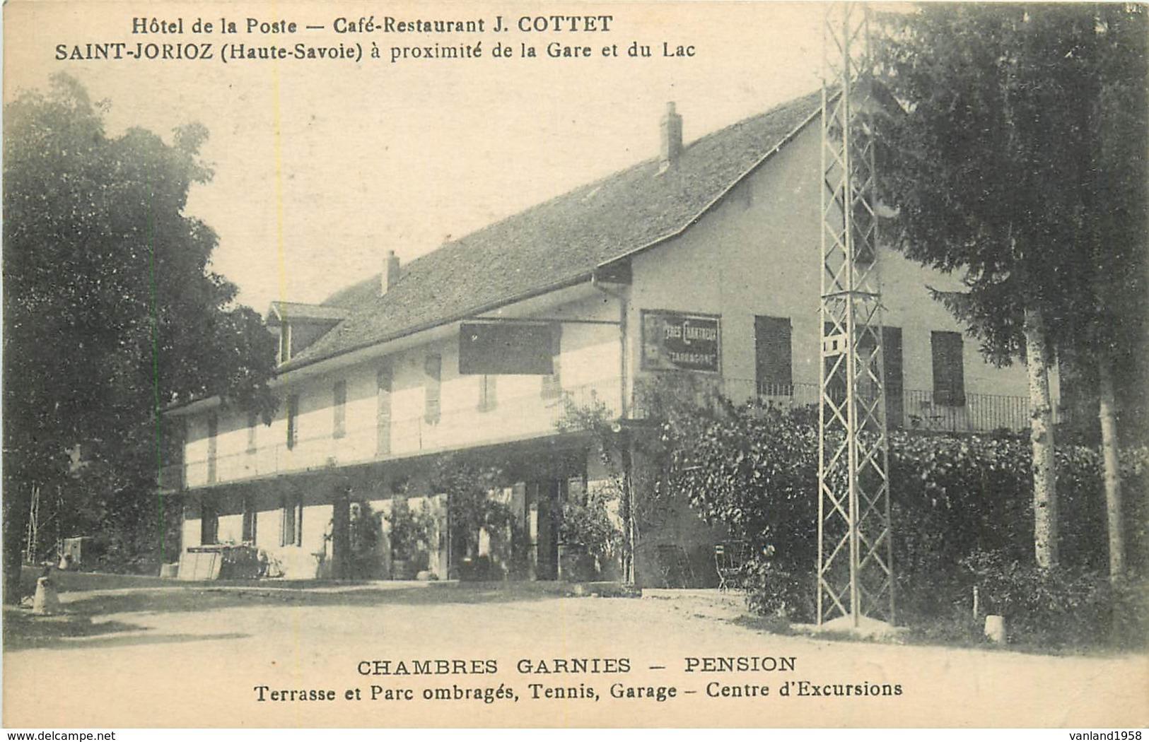ST JORIOZ-hôtel De La Poste-café Restaurant - Autres Communes