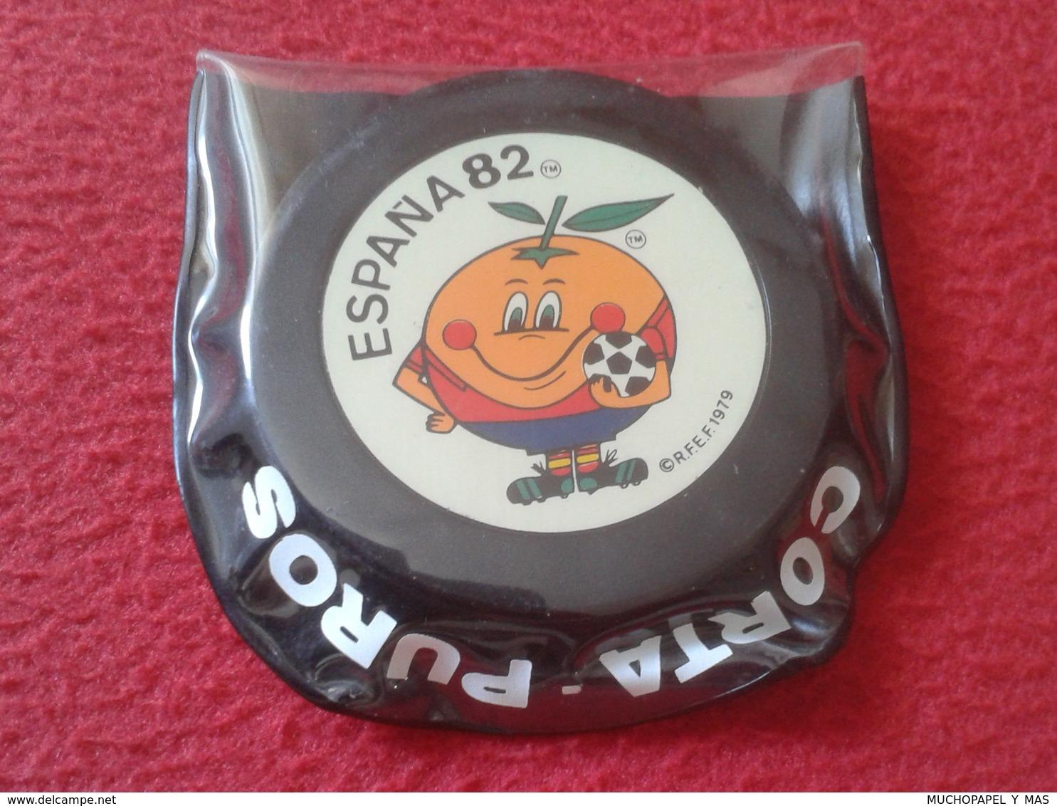 CORTAPUROS CORTA PUROS NARANJITO MASCOTA DEL MUNDIAL DE FÚTBOL ESPAÑA 82 1982 WORLD CUP FOOTBALL SOCCER OLD CIGAR CUTTER - Taglia-sigari
