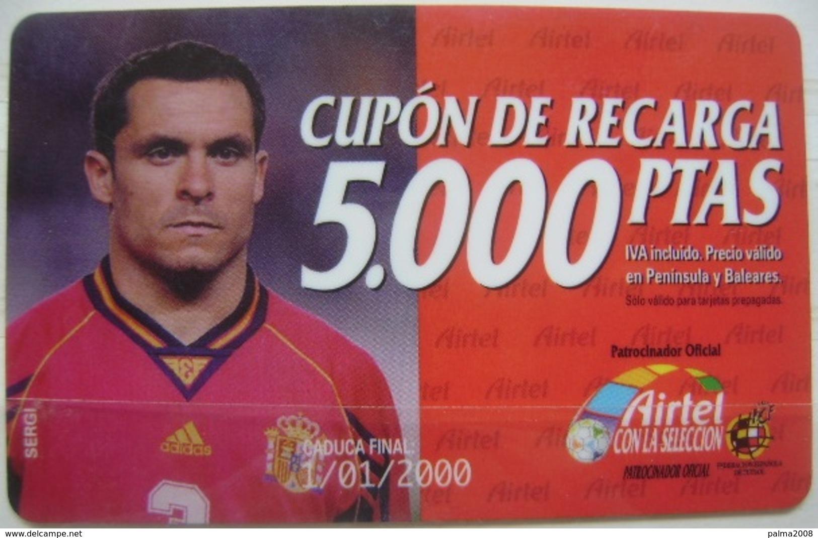 AIRTEL - CUPON DE 5000 PTS - USADA 1ª CALIDAD LA DE LA FOTO - A698 - Spanien