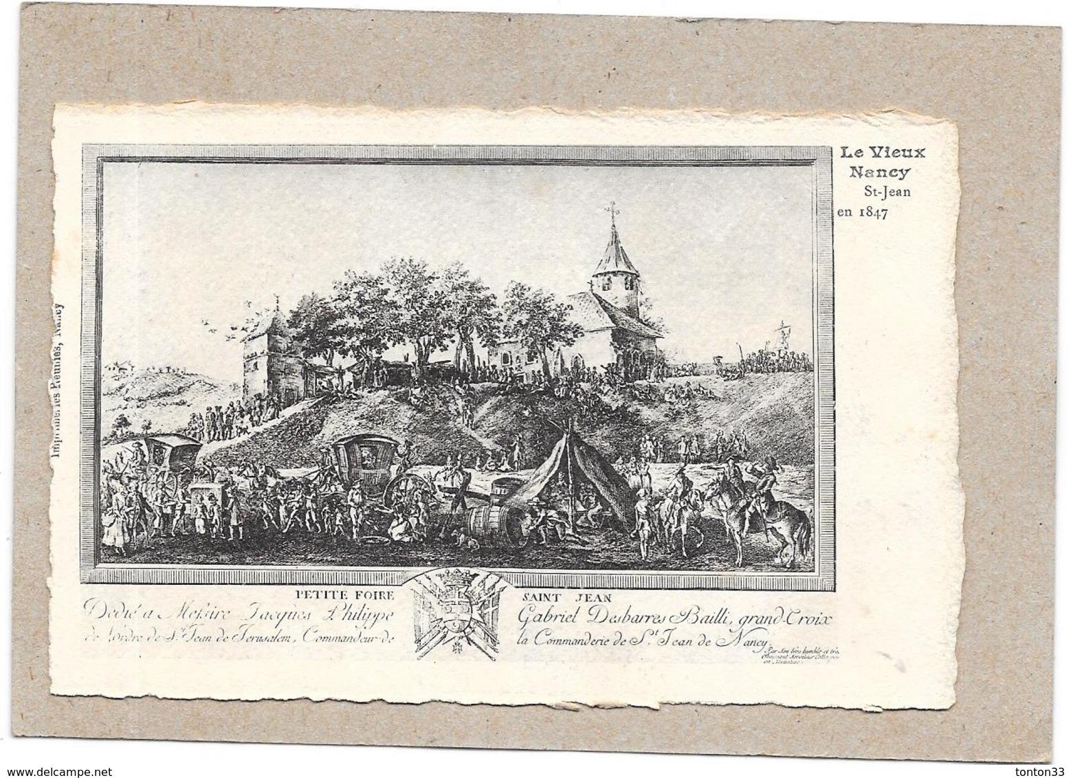 DEPT 54 - LE VIEUX NANCY - Saint Jean En 1847  - ROUIL** - - Nancy