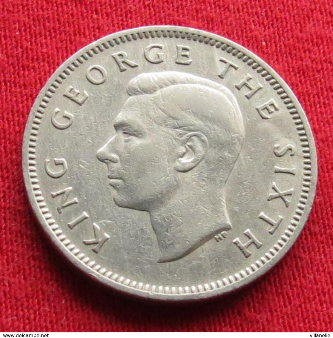 New Zealand 1 Shilling 1948 KM# 17  Nova Zelandia Nuova Zelanda Nouvelle Zelande - Nouvelle-Zélande
