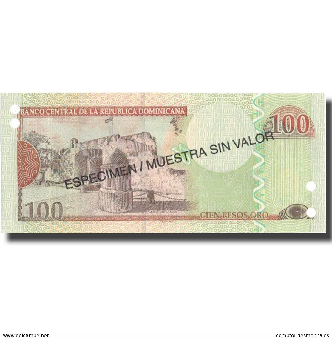 Billet, Dominican Republic, 100 Pesos Oro, 2004, 2004, Specimen, KM:171s4, NEUF - Dominicaine
