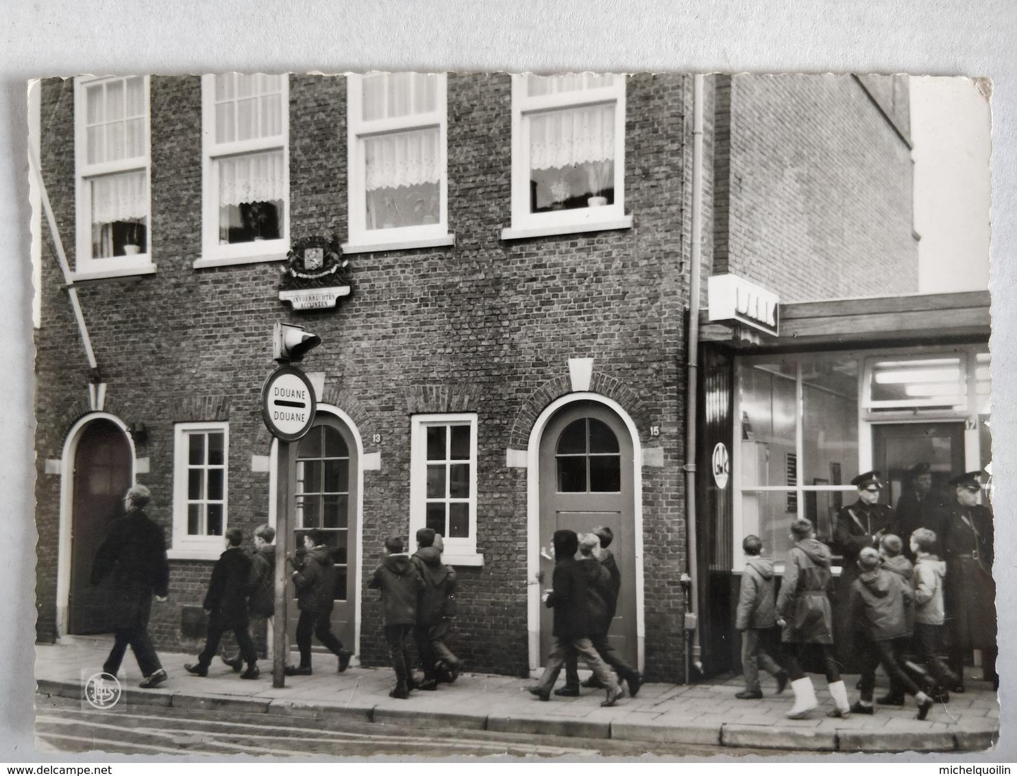 Heide Kalmthout. Schoolkolonie Kindervreugd. Domein Diesterweg. Animée, Passage à La Douane - Kalmthout