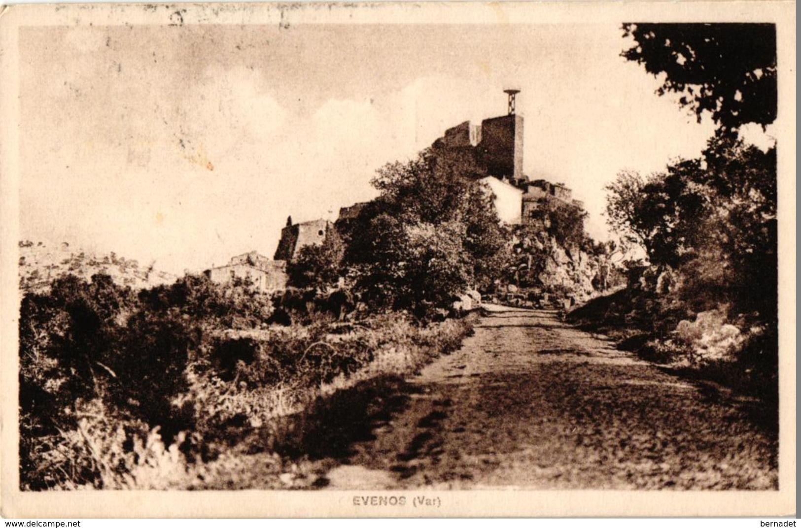 83 .. EVENOS ... 1939 - Autres Communes