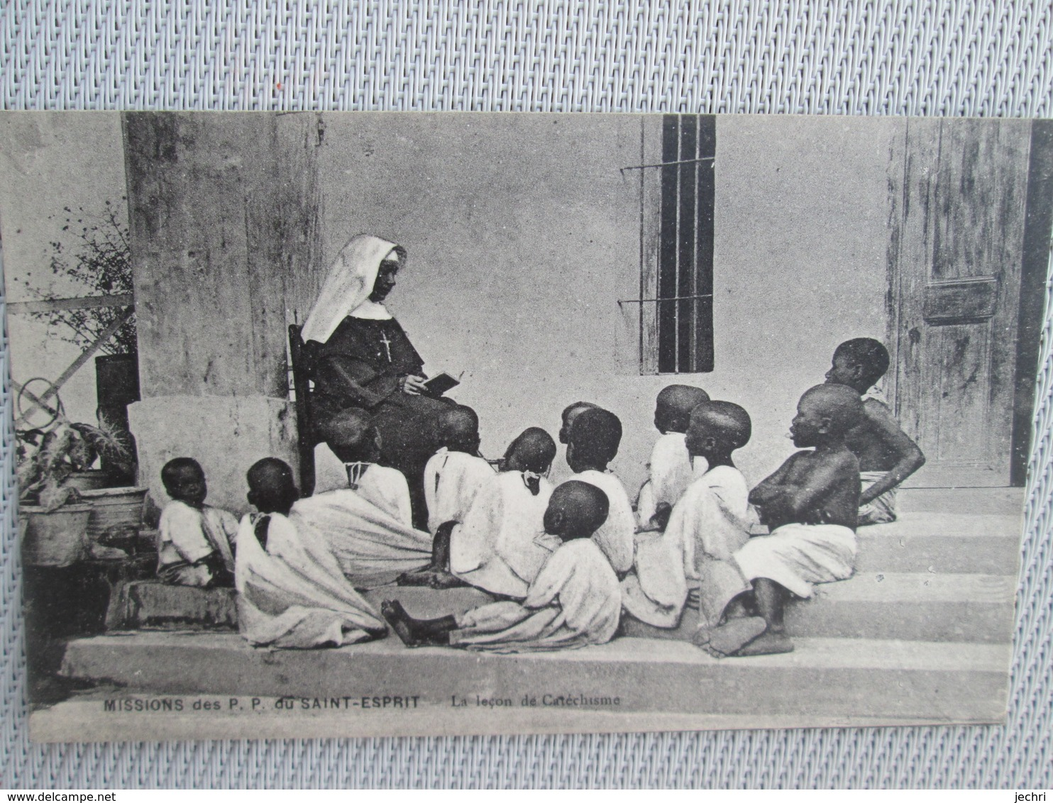 Missions Des Pp Du Saint Esprit .  La Lecon De Catechisme - Cartes Postales