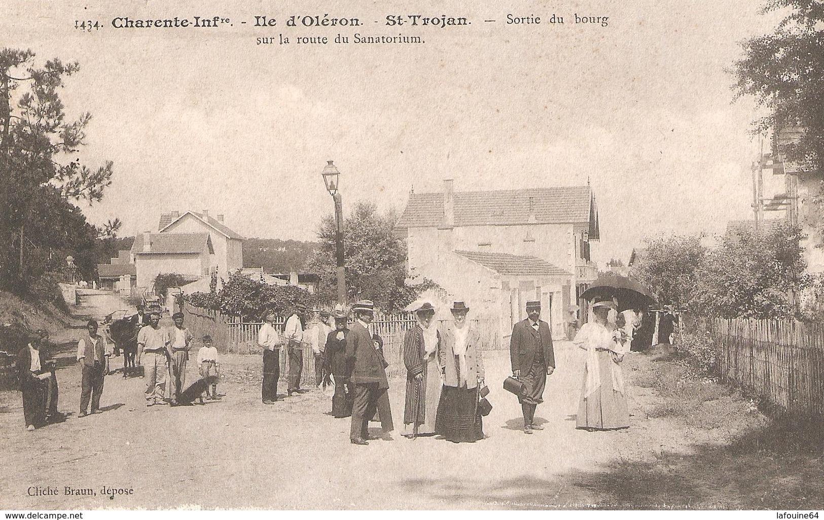 SAINT TROJAN Les BAINS - Intersection Des Rues Omer Charlet Et De La République. - Ile D'Oléron