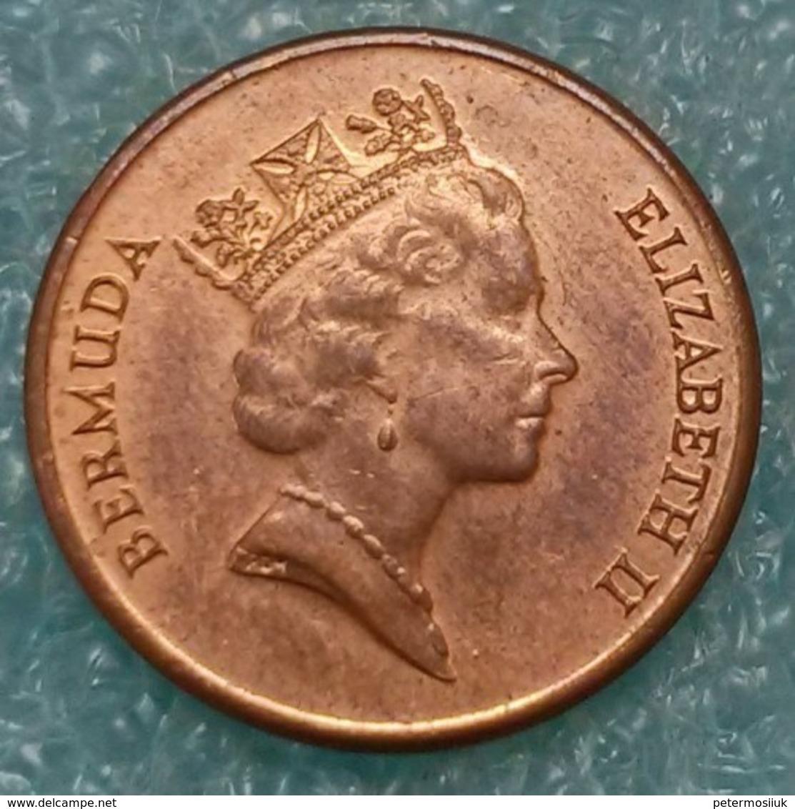 Bermuda 1 Cent, 1997 ↓price↓ - Bermudes