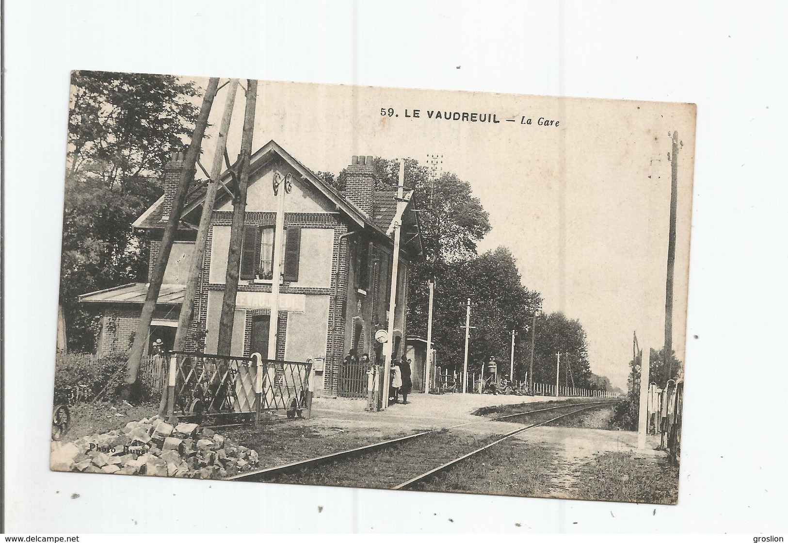 LE VAUDREUIL (EURE) 59 LA GARE - Le Vaudreuil