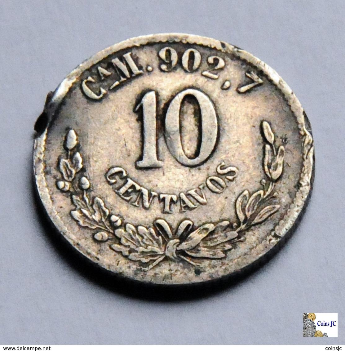 México - Chihuahua - 10 Centavos - 1893 - Mexiko