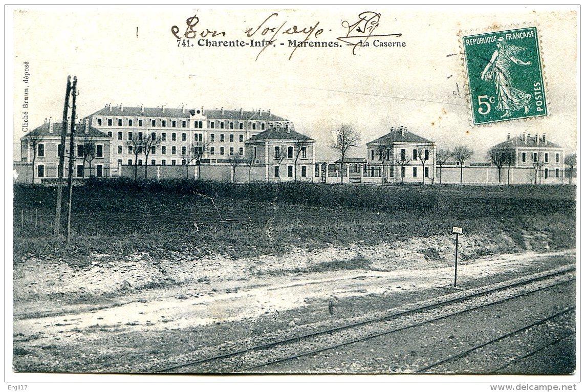 17320 MARENNES - Editeur Braun - Lot De 2 CPA - Voir Détails Dans La Description Et Les Numérisations - Marennes