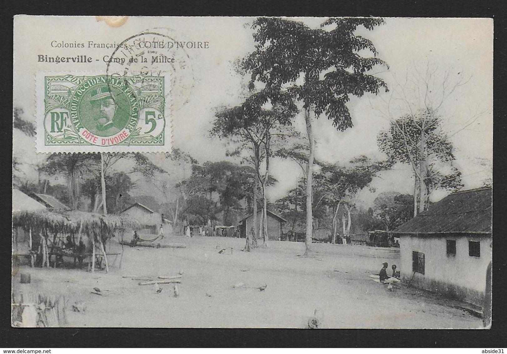 Cote D' Ivoire  -  BINGERVILLE - Camp De La Milice - Côte-d'Ivoire