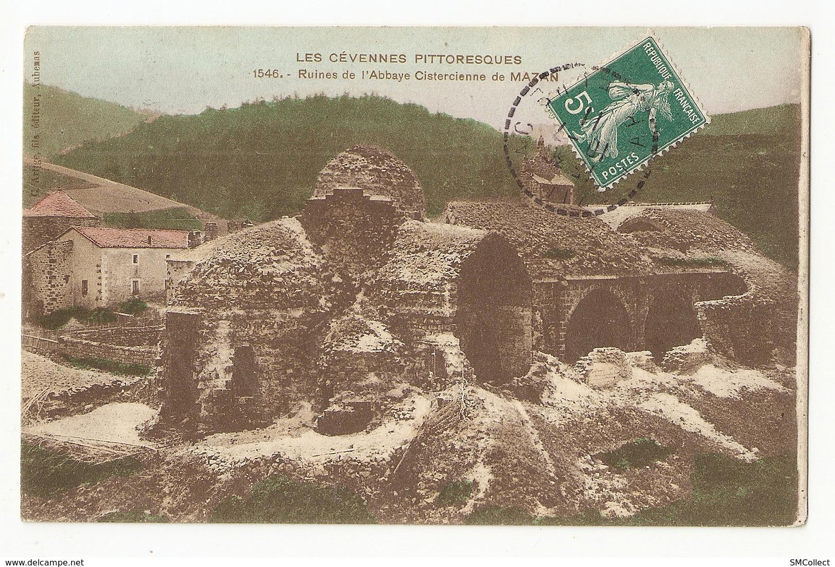 07 Mazan. Ruines De L'abbaye Cistercienne (A2p67) - France