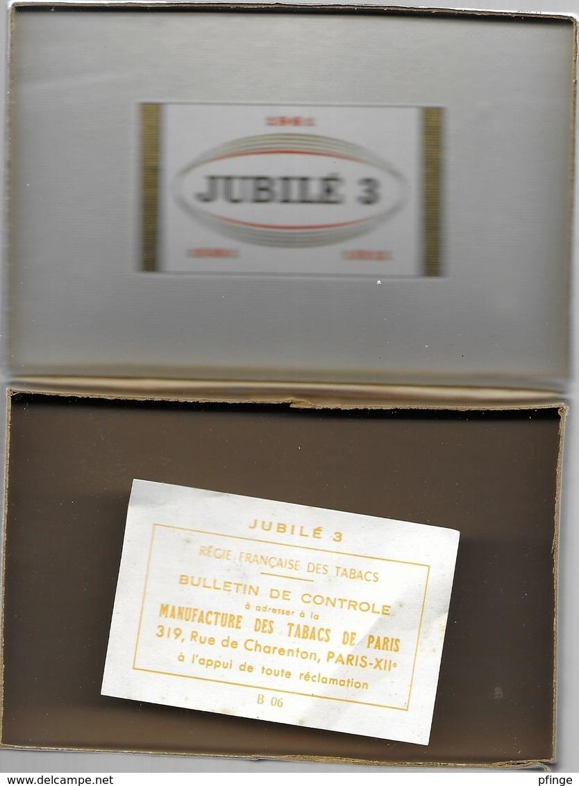 Ancien Paquet Vide Jubilé 3 - Estuches Para Puros