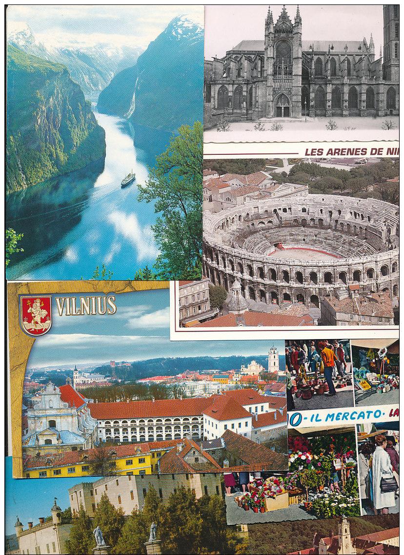 3.615 Gramm (netto) Ansichtskarten Aus Europa (Lot48) - Cartes Postales