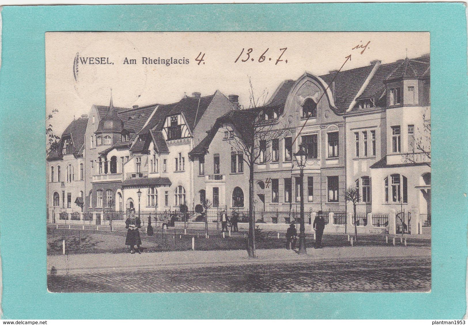 Old Postcard Of Wesel, North Rhine-Westphalia, Germany..K27. - Wesel