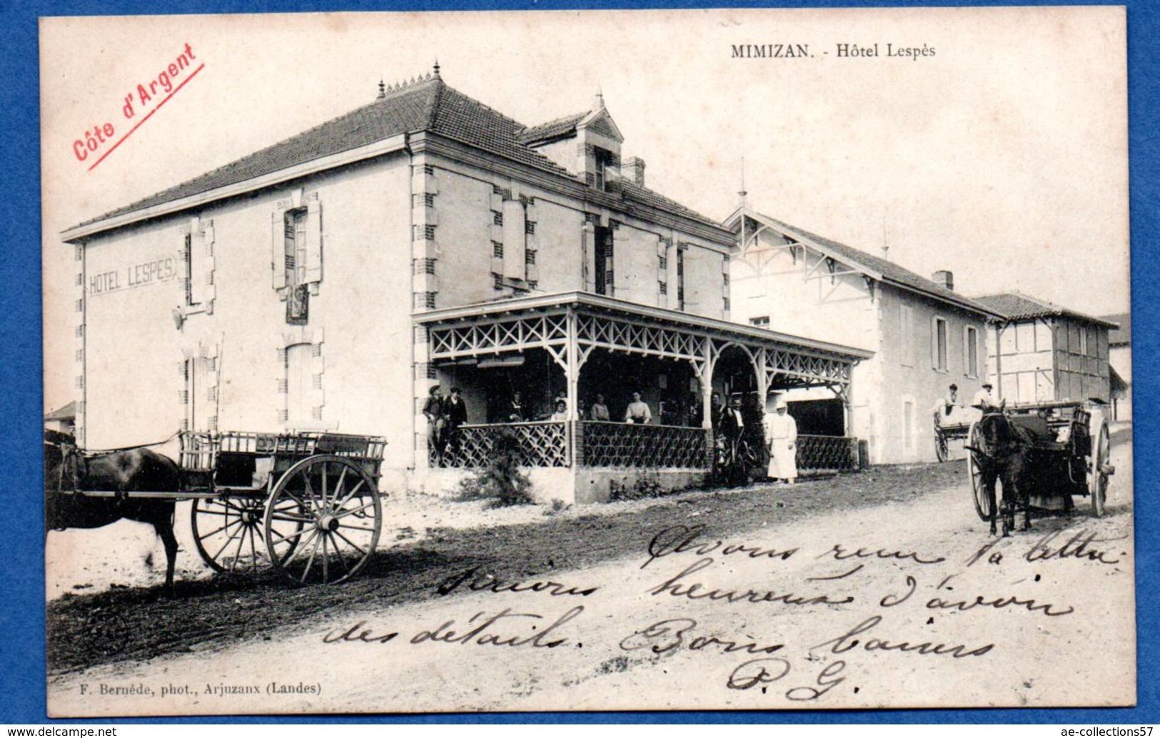 Mimizan / Hôtel Lespès / Côte D'Argent - Mimizan