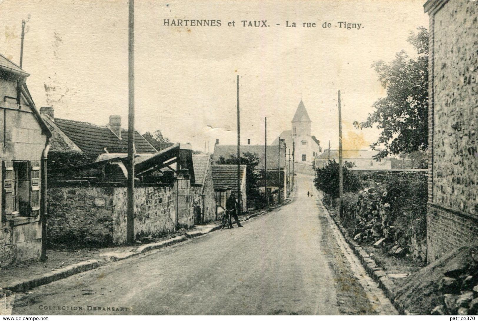 HARTENNES ET TAUX - La Rue De Tigny - France