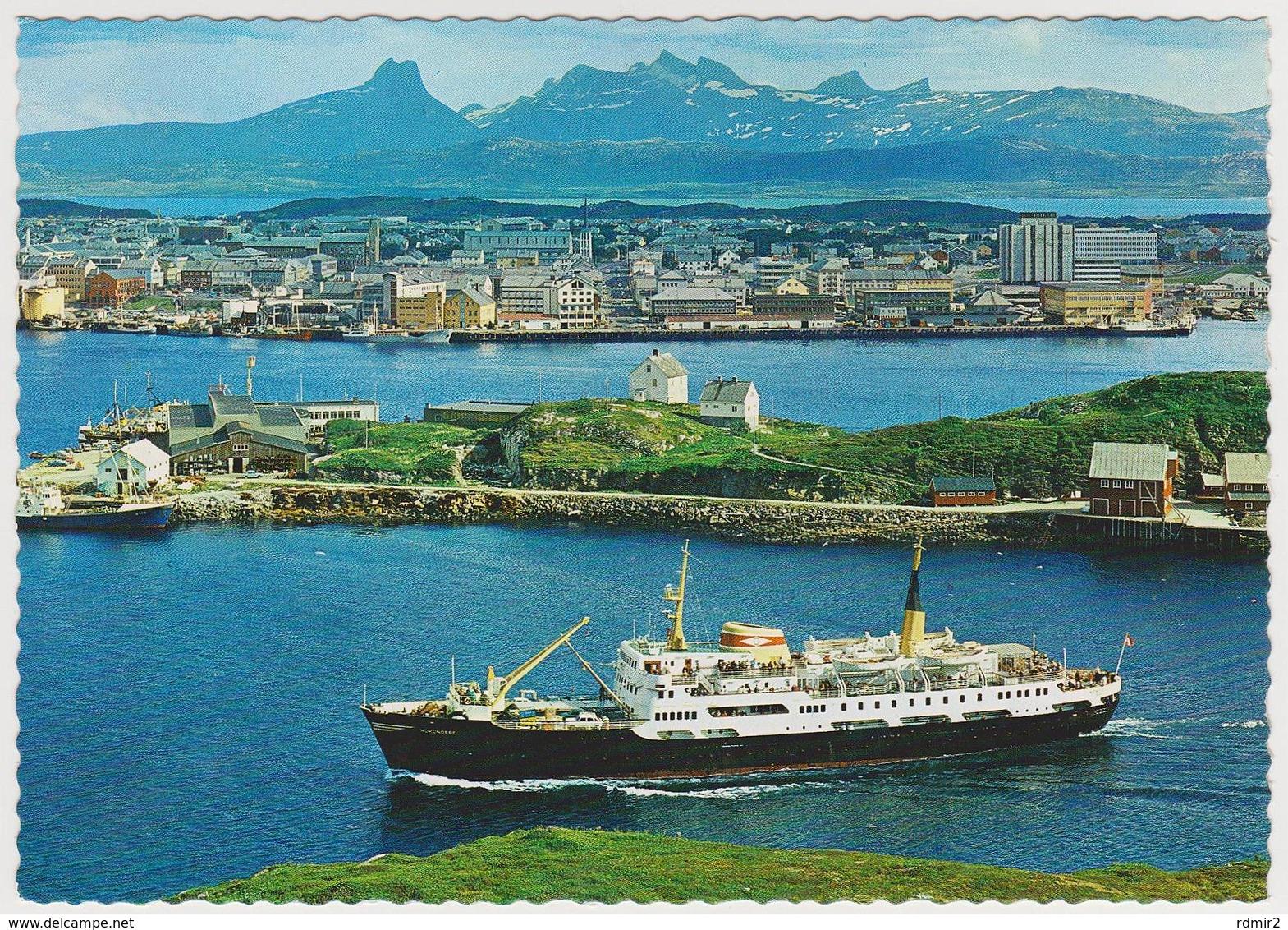 [86] BODØ - Ship / Barco / Bateau / Nave / Schiff. No Escrita / Not Write / Non écrite / Non Scritta / Nicht Geschrieben - Noruega