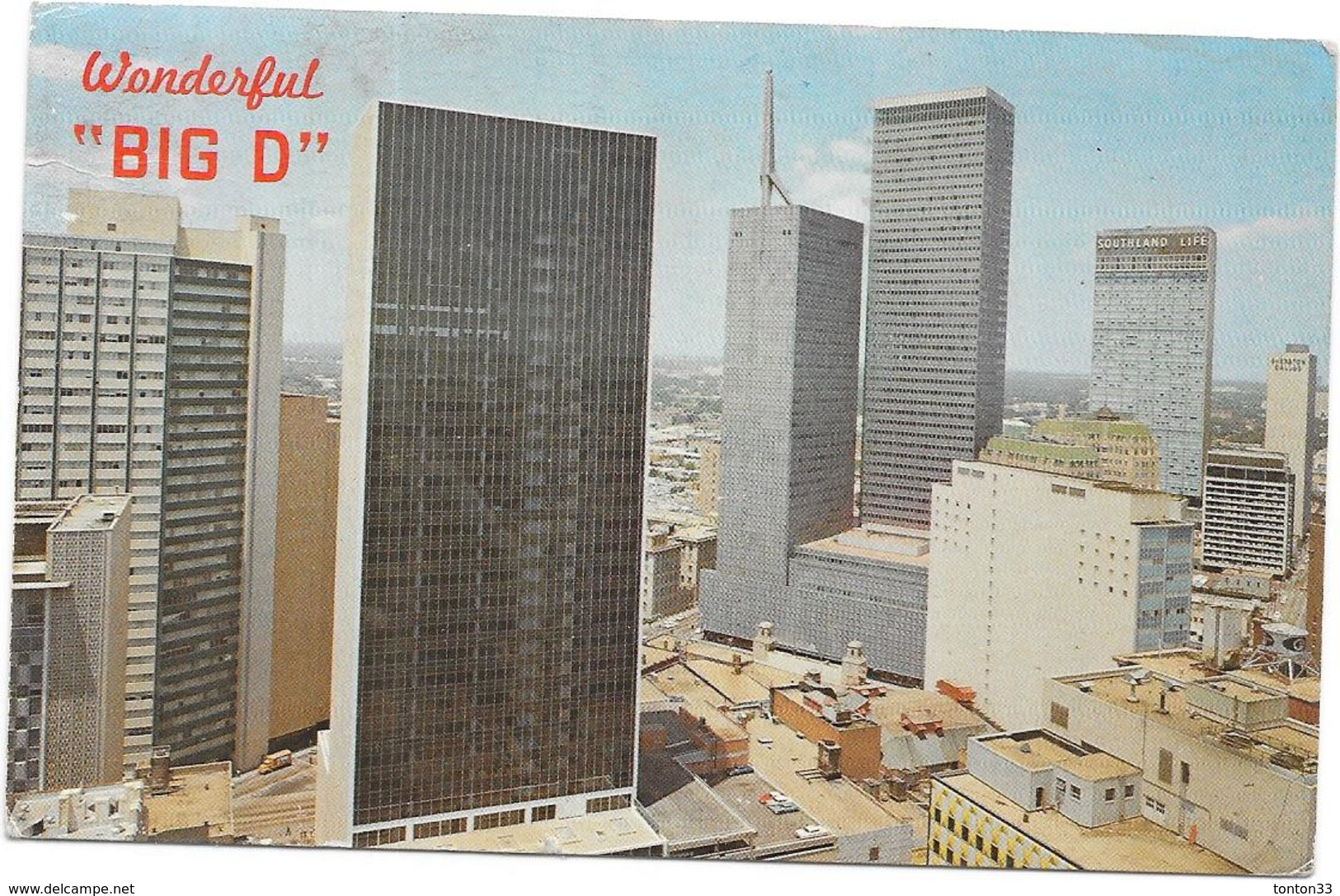 DALLAS  TEXAS  ETATS UNIS - WONDERFUL  BIG D  - NANT** - - Dallas