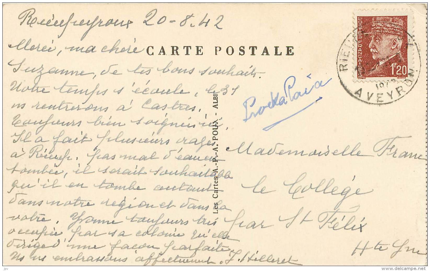 Environs De RIEUPEYROUX - AVEYRON - Barrage Et Passerelle De Lescure Jaoul - France