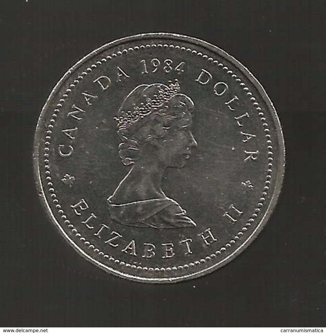 CANADA - ONE DOLLAR ( 1984 ) J. CARTIER - Canada