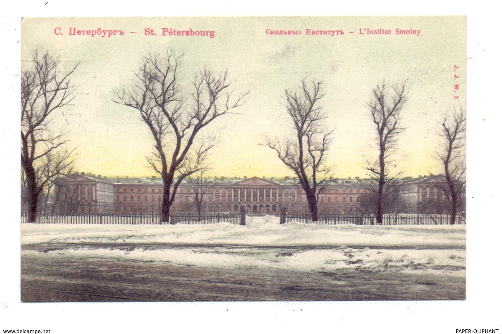 RU 190000 SANKT PETERSBURG, Smolny Institut, 1907 - Russland