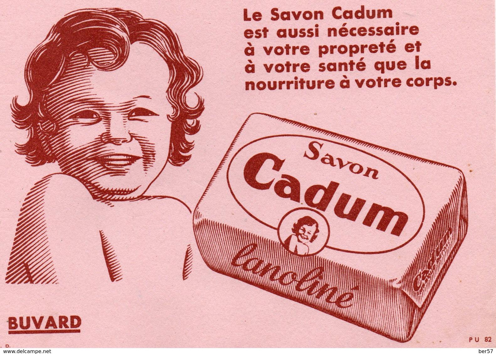 Buvard Ancien : Bébé CADUM - Savon - Parfums & Beauté