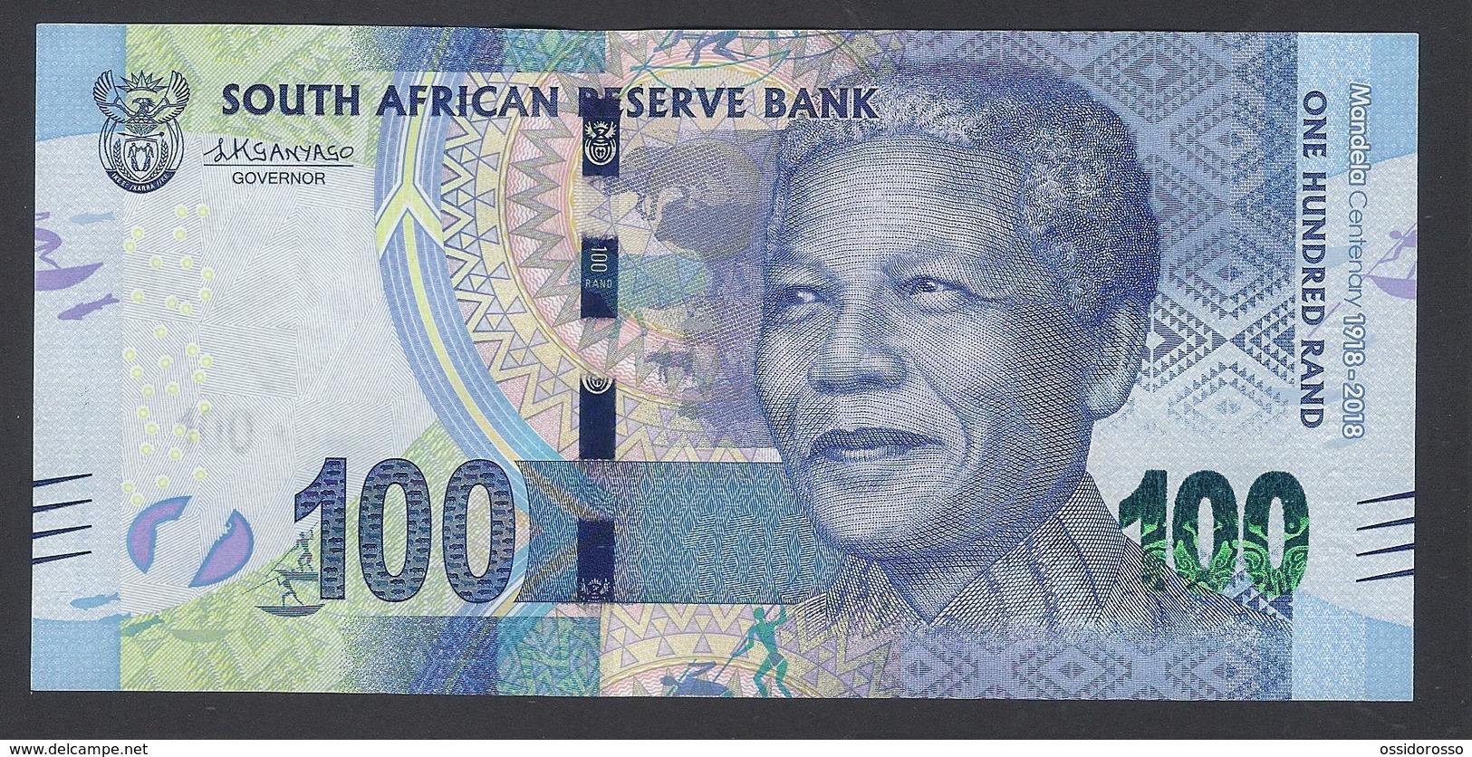 South Africa - 100 Rand - MANDELA Centenary 1918-2018  -SB 1543082 D- -mSPL/ SPL - Afrique Du Sud