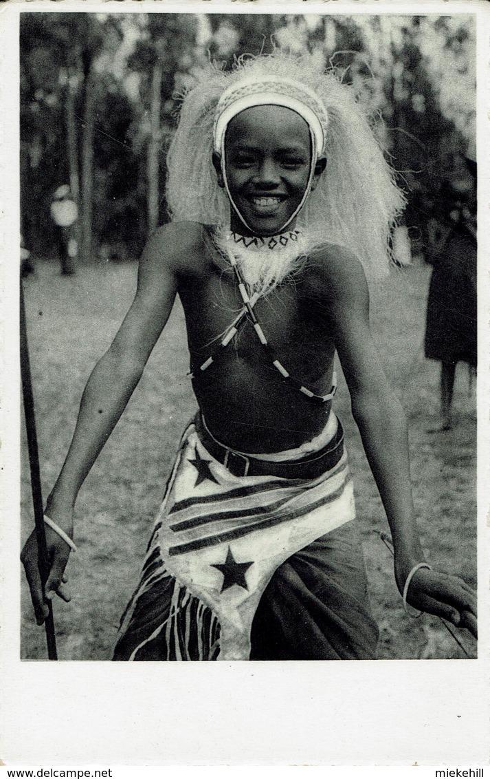 RUANDA-URUNDI-DANSEUR DU ROI-DANCER-RWANDA - Ruanda-Urundi