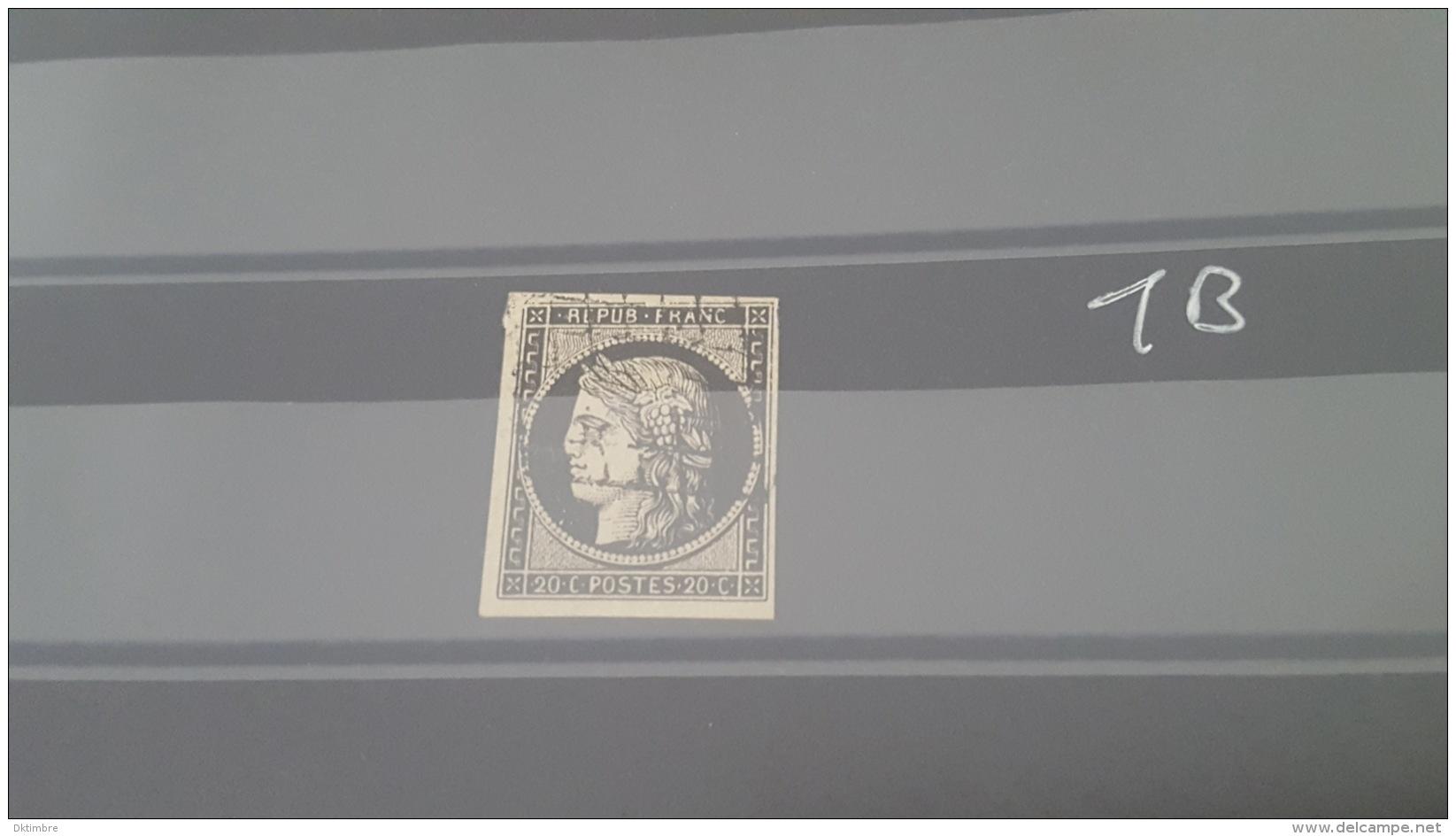 LOT 407737 TIMBRE DE FRANCE OBLITERE N°3 TB - 1849-1850 Ceres