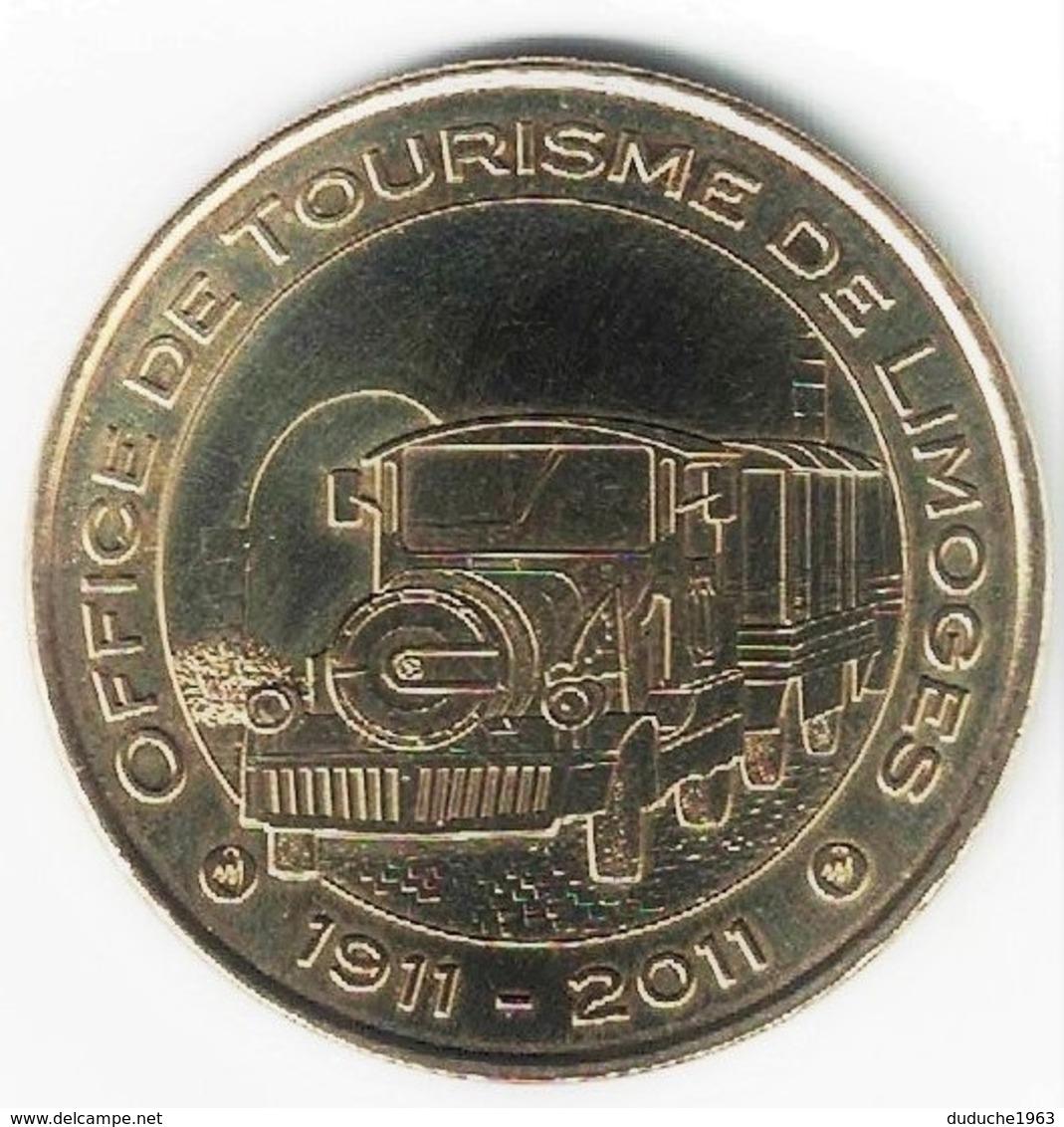 Monnaie De Paris 87.Limoges - Office De Tourisme 1911 - 2011 - 2011