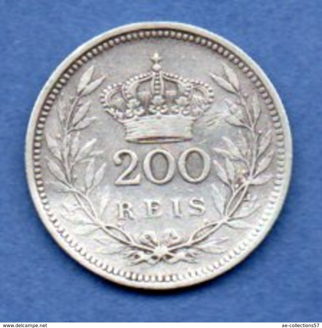 Portugal    - 200 Reis 1909  --  Km # 549 --  état  TB - - Portugal