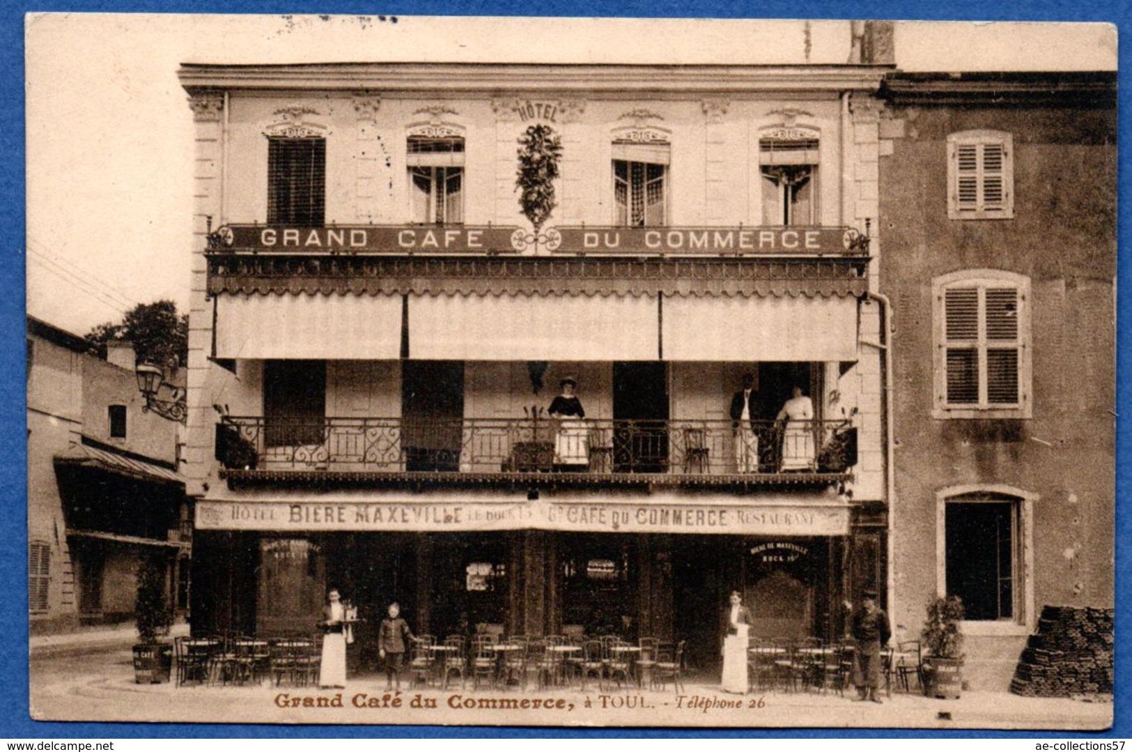 Toul   / Grand Café Du Commerce / Bière Maxeville - Toul
